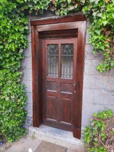 Renovierung einer alten Tür aus dem 19Jh.